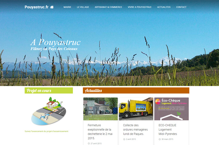 Site Mairie Pouyastruc